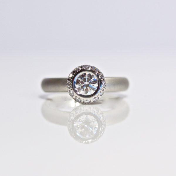 Ultimate diamond engagement ring